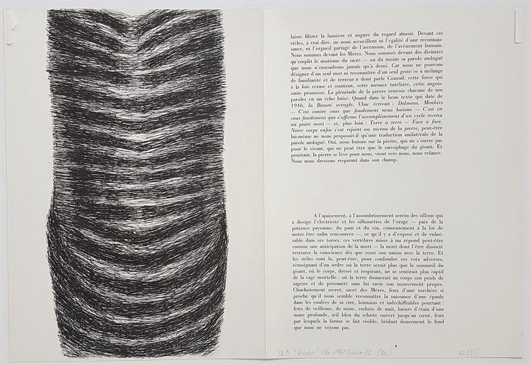 Composition - Modern Print by Raoul Ubac