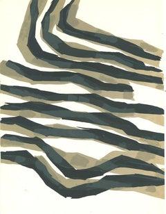 Composition  - Original Lithograph by Raoul Ubac - 1965