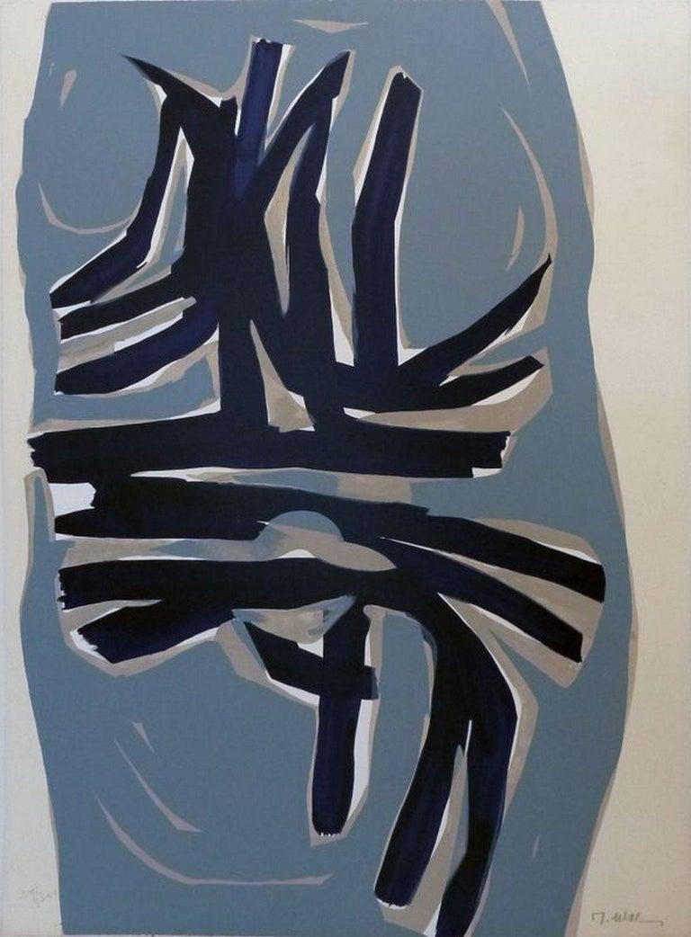 Raoul Ubac Abstract Print - No title