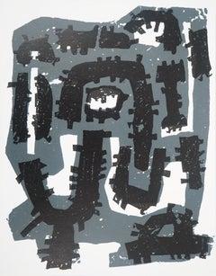 Slate Imprints - Original etching