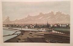 Chicago's Michigan Avenue in 1861