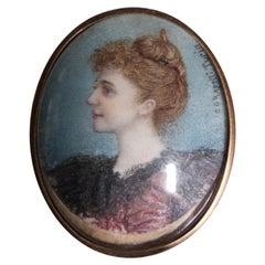Rapetti Portrait Miniature-Charleston Interest