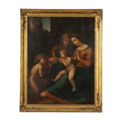 Madonna of the Divine Love Copy from Raffaello Sanzio