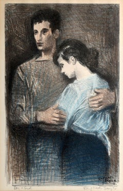 Boy and Girl by Raphael Soyer