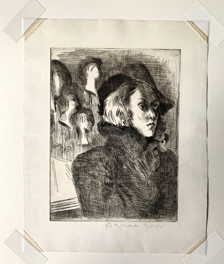 PASSER-BY - Print by Raphael Soyer