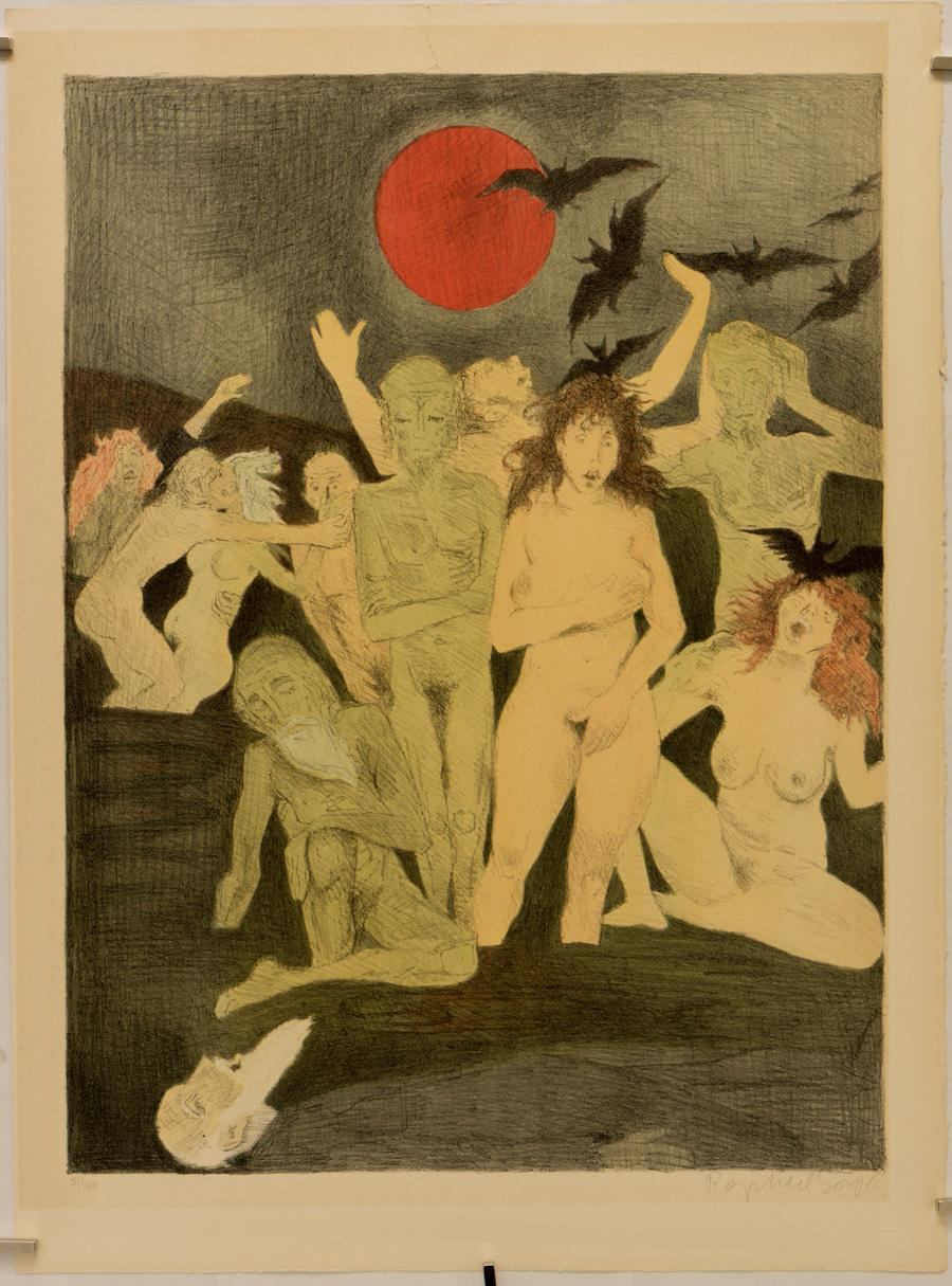 The Gentleman from Cracow: Nude in the Moonlight