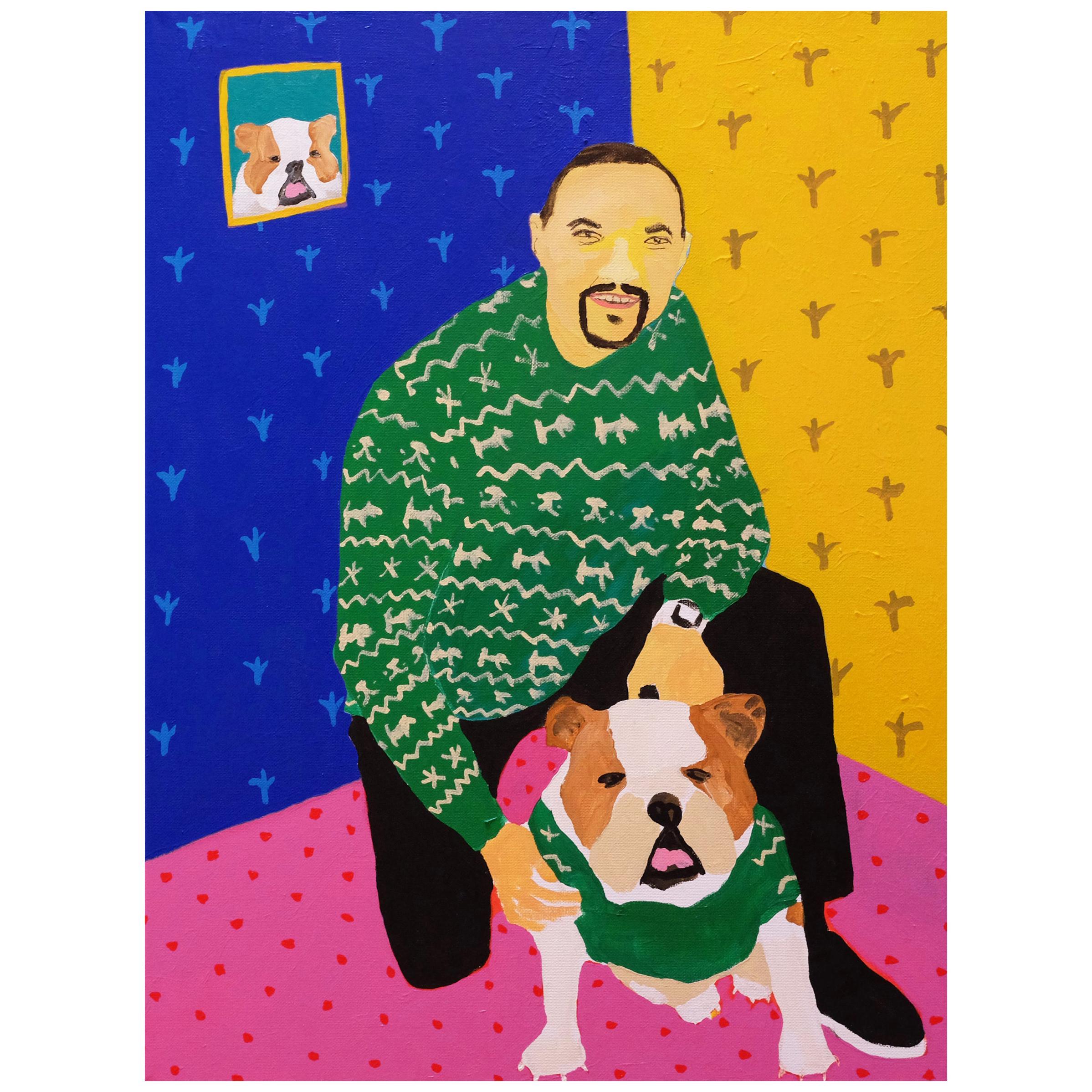 'Rapper's Delight' Portrait Painting by Alan Fears Pop Art