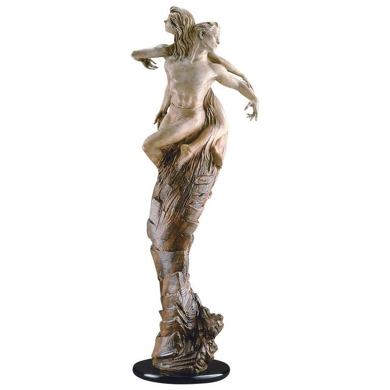 """Rapture"" Bronze Sculpture by Martin Eichinger For Sale"