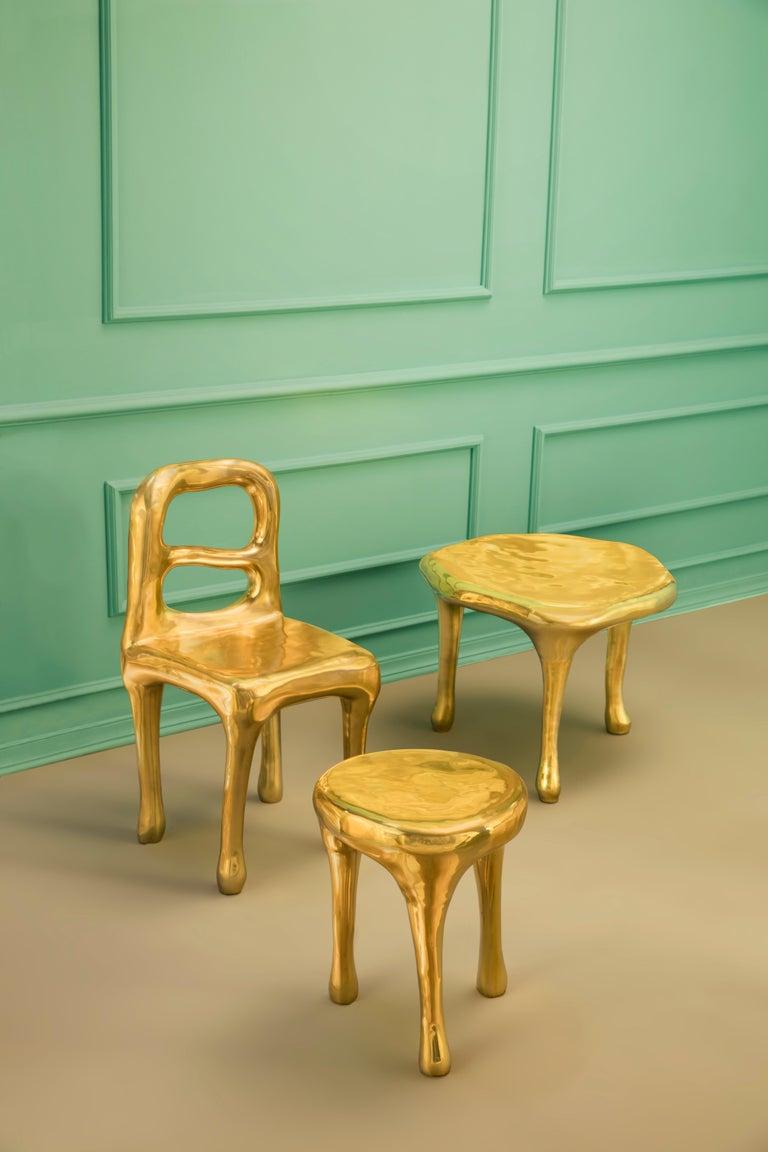 Brass Rapture Chair by Scarlet Splendour For Sale