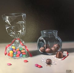 Contemporary Realist Painting 'Sweet Delights' by Raquel Carbonell