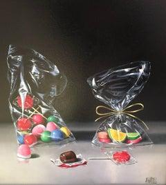 'Contemporary Realist Still-Life 'Delicious Treats' by Raquel Carbonell