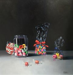 'Contemporary Realist Still-Life 'Sweet Treats' by Raquel Carbonell