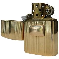 Rare 14-Karat Littal Lite Flip Pocket Lighter