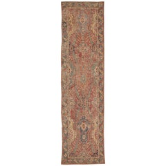 "Rare 17th Century Gallery Size Khorassan Persian Rug. Size: 5' 4"" x 20' 4"""