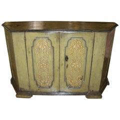 Rare 17th Century Tuscan Baroque Credenza Console Cabinet Italian Antiques, LA