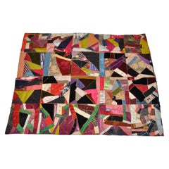 Rare 1800s Set of Patchwork Quilts