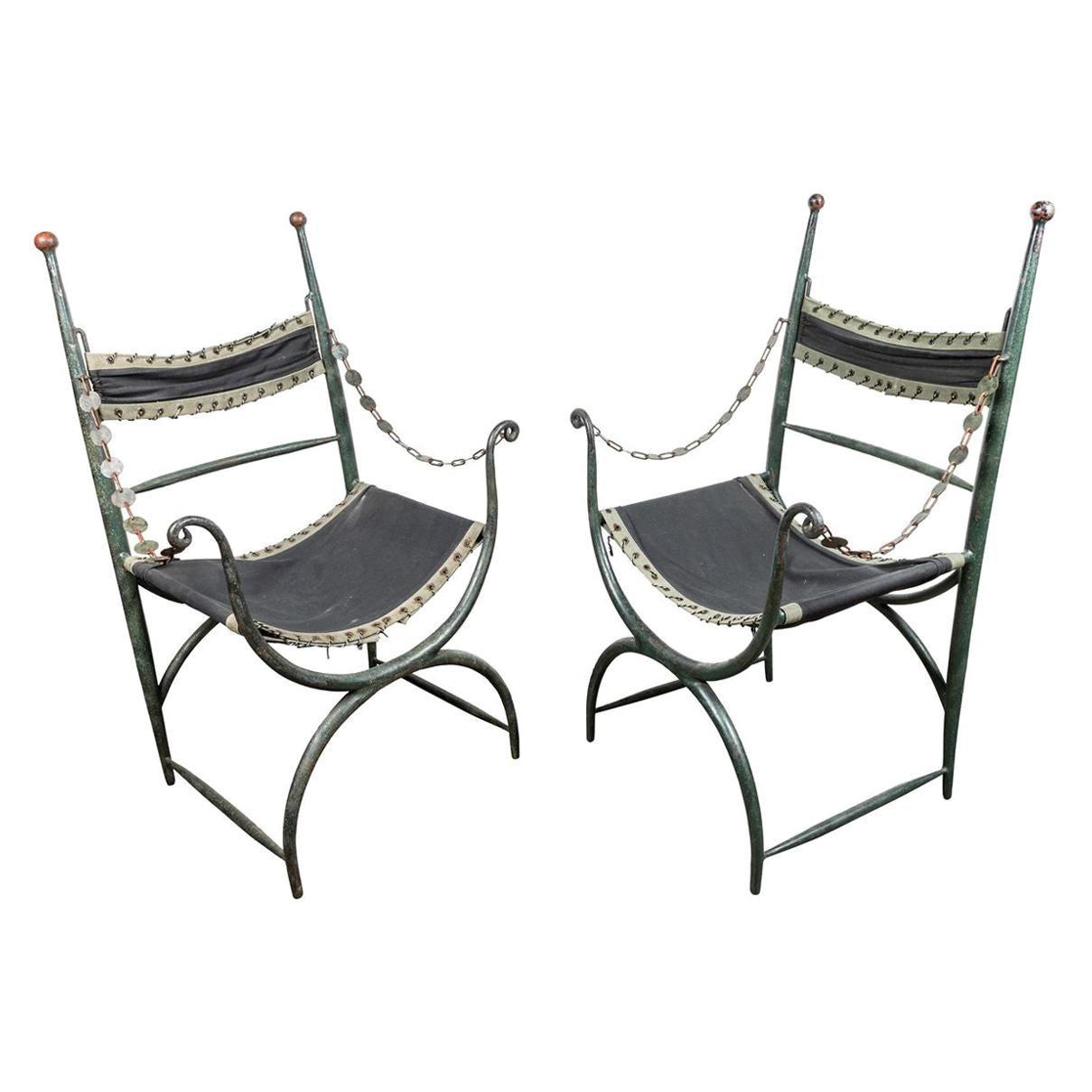 Rare, 1920's Italian Chairs