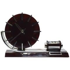 Rare 1930s Modernist Bakelite Clock