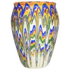 Rare 1930s Ozark Roadside Pottery Vase or Pot