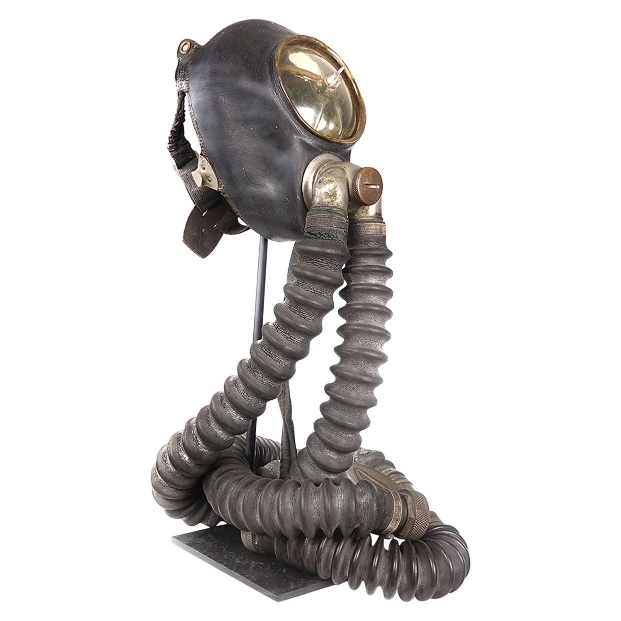 """Rare 1935 Draeger """"O"""" Mask"""
