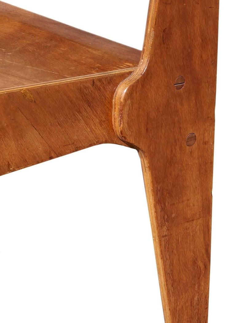 """American Rare 1938 """"Bryn Mawr"""" Chair by Marcel Breuer For Sale"""