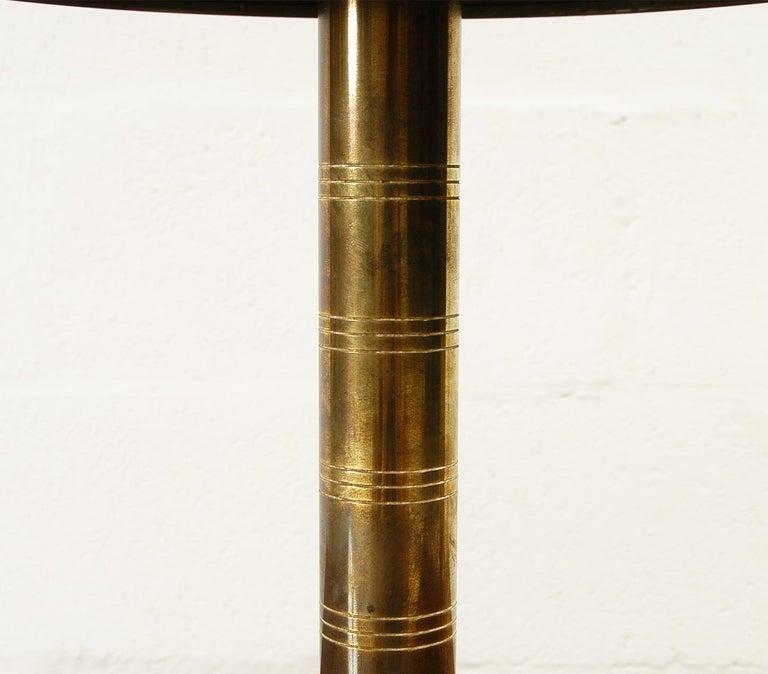 20th Century Rare 1940s Scandinavian Postwar Swedish Modernist Table Lamp by Bohlmarks For Sale