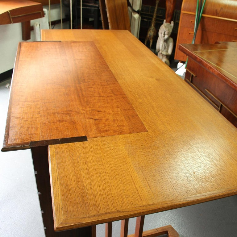 Rare 1947 Unison Desk and Chair by Frank Floyd Wright In Good Condition In Pasadena, CA