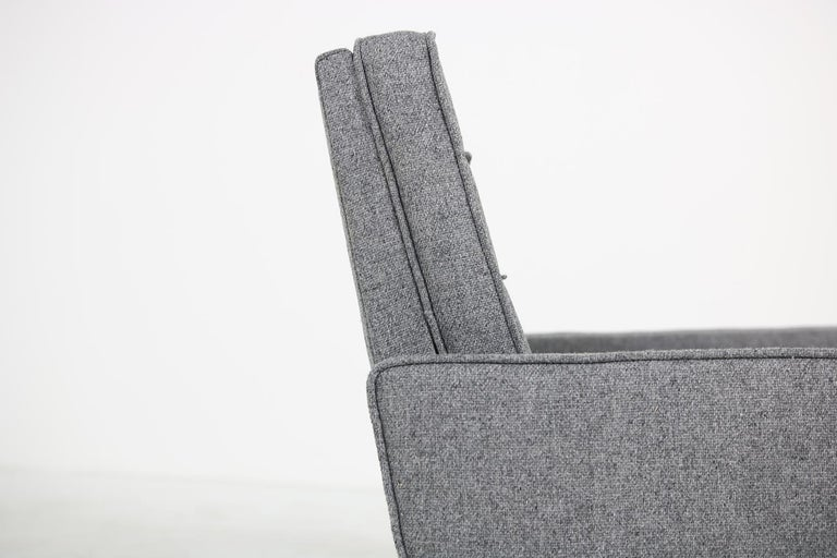 Mid-Century Modern Rare 1950s Florence Knoll Lounge Chair Mod. 65a Knoll International Armchair For Sale