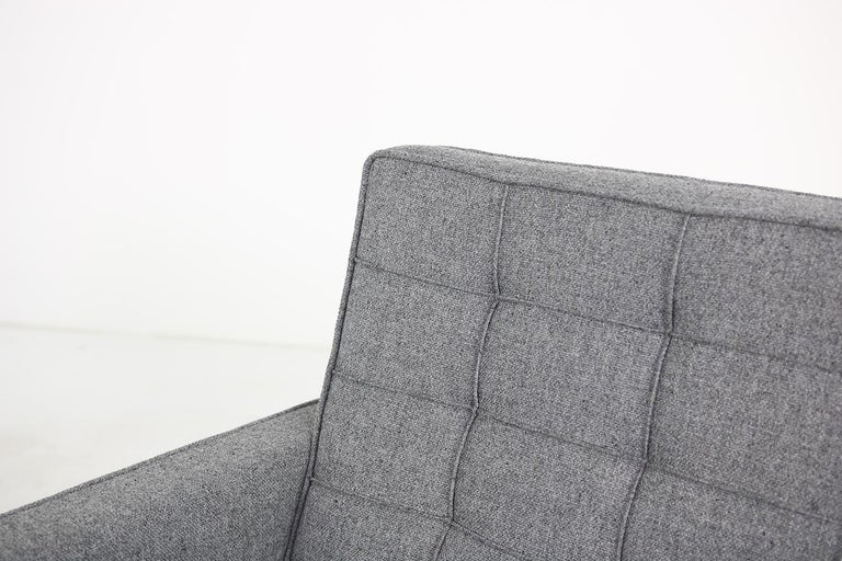 Metal Rare 1950s Florence Knoll Lounge Chair Mod. 65a Knoll International Armchair For Sale