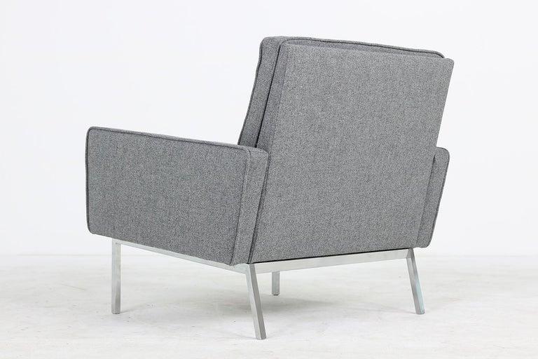 Rare 1950s Florence Knoll Lounge Chair Mod. 65a Knoll International Armchair For Sale 1