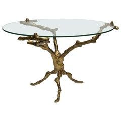 Rare 1960s Bronze Table