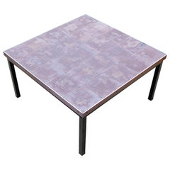 Rare 1960s Ceramic Coffee Table by Alfred Hendrickx for Belform
