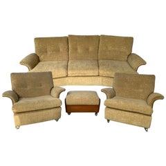 Rare 1960's Mid-Century Modern Teak G-Plan Seating Group