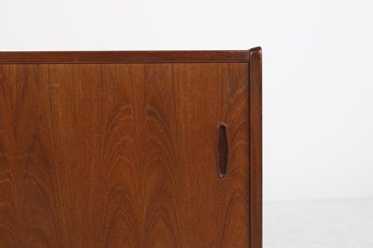 Swedish Rare 1960s Nils Jonsson Vintage Teak Sideboard Modern Trio for Troeds, Sweden For Sale