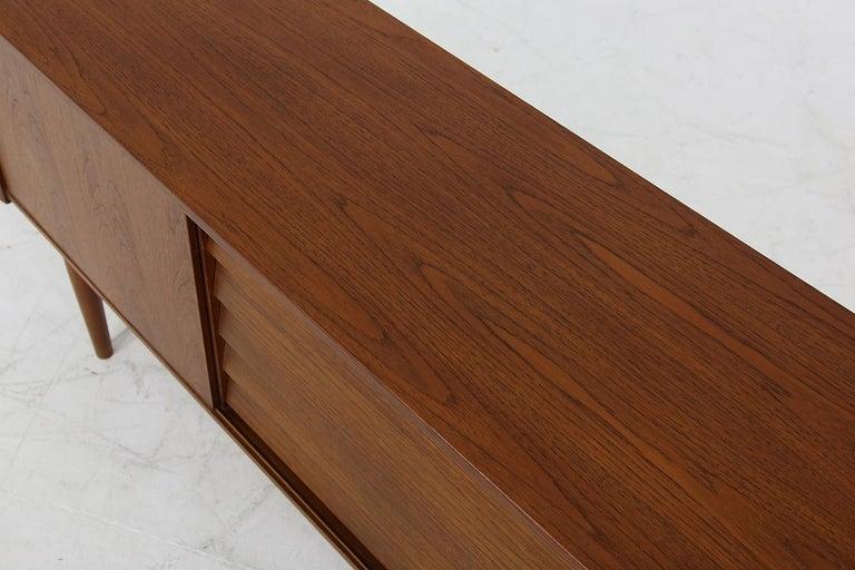 Rare 1960s Nils Jonsson Vintage Teak Sideboard Modern Trio for Troeds, Sweden For Sale 2