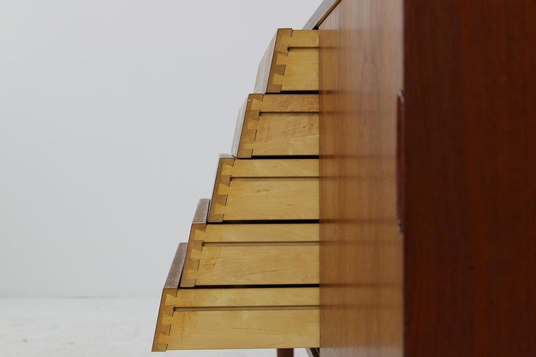Rare 1960s Nils Jonsson Vintage Teak Sideboard Modern Trio for Troeds, Sweden For Sale 3