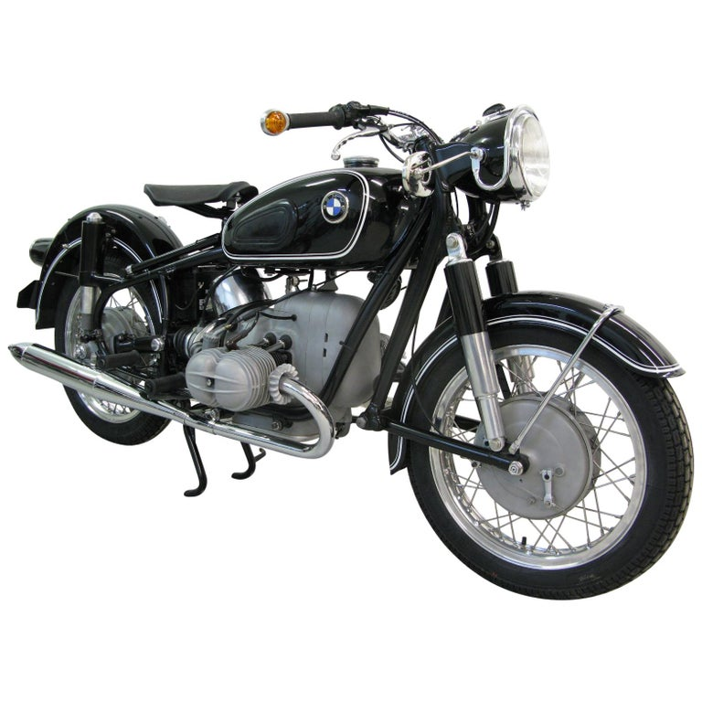 Rare 1962 BMW R50S, Built for Racing, Fully Restored, VIN 564548 For Sale