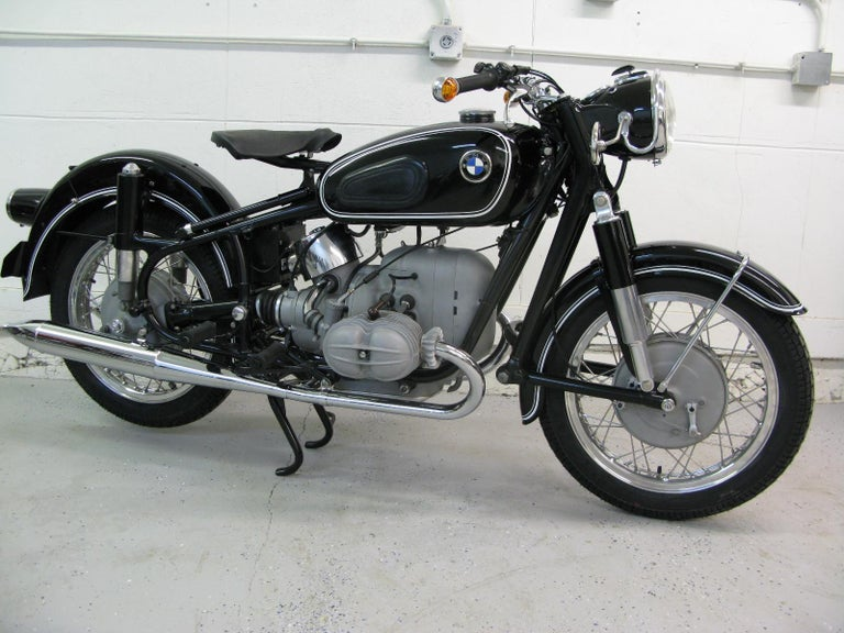 Mid-20th Century Rare 1962 BMW R50S, Built for Racing, Fully Restored, VIN 564548 For Sale