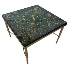Rare 1970s British Fibre Optic Coffee Table