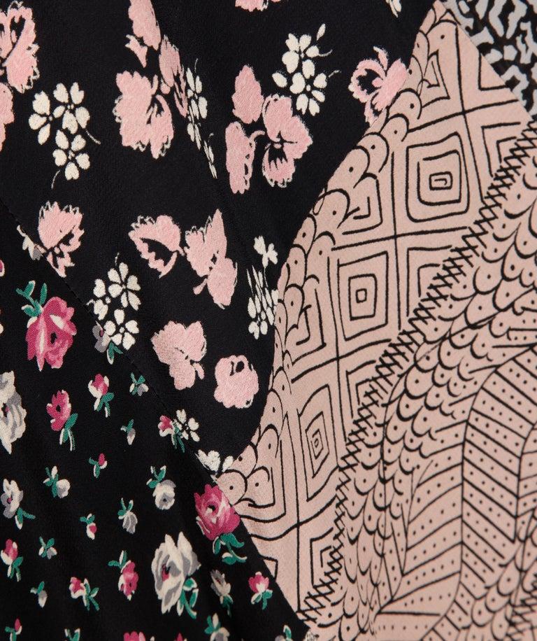 Rare 1970s Helga Howie Vintage Patchwork Dress 2