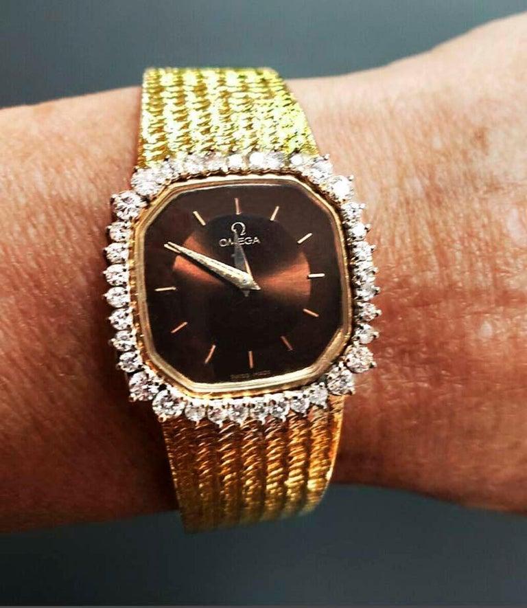 Timepiece Dimensions:  24mm x 25mm   Bracelet length: 170mm  The overall timepiece is in excellent condition and is a beautiful example of where high fashion style meets innovative workmanship that the brand is so famous for having created