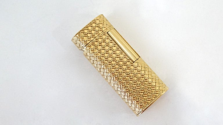 Van Cleef & Arpels Rare 1970s 18K Gold Lighter  For Sale 7