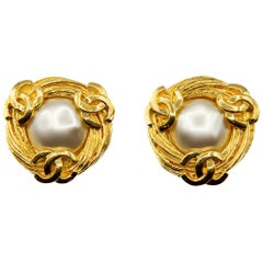 Rare 1980s collection 25 Chanel Clip on earrings