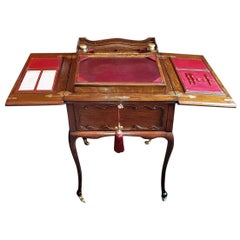 Rare 19th Century English Eclipse Patented Telescopic Desk