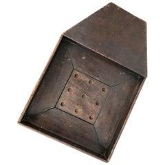 Rare 19th Century Early American Game Board Folk Art Primitive Roulette Game