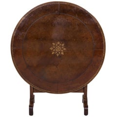 Rare 19th Century French Charles X Period Tilt-Top Wine Tasting or Vendage Table
