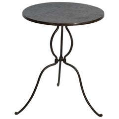 Rare 19th Century French Iron Bistro Table