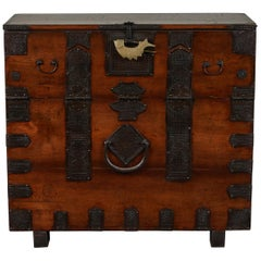 Rare 19th Century Korean Chest