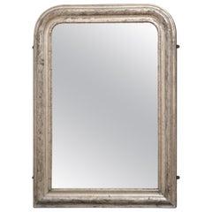 Rare 19th Century Louis Philippe Silver Gilt Wall Mirror