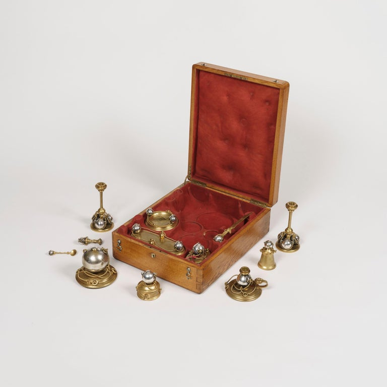 A rare nautical desk set